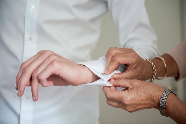 manchetknopen trouwen