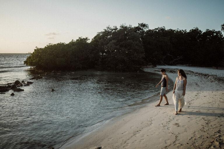 strandbruiloft Aruba